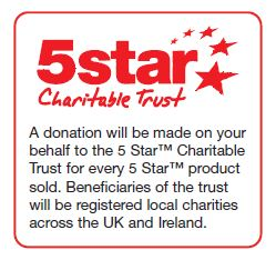 5 star charitable trust for office supplies