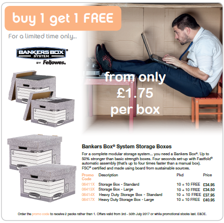 Office 5 Star Bankers Archive Box Offer