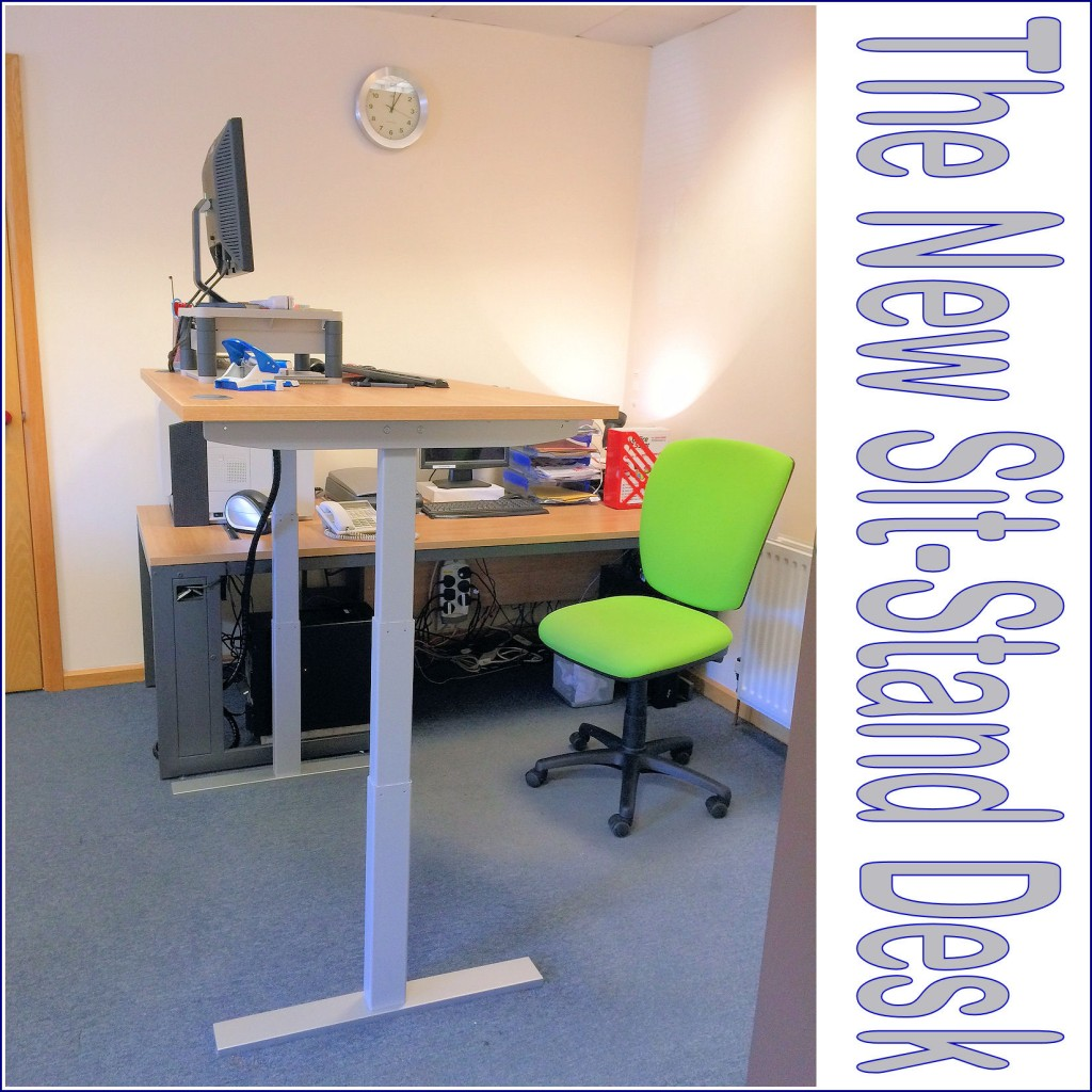 Sit stand desk officestar 3