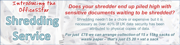 Big Discount Stationery Office Paper Shredding Service
