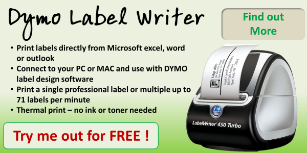 Dymo Label Maker Printer 450 Twin Quick 600